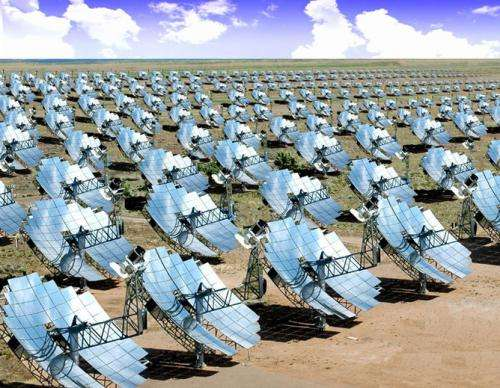 Solar thermal energy cost expected to halve: CSIRO
