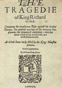 Source of Shakespeare's inaccurate Richard III portrayal explored