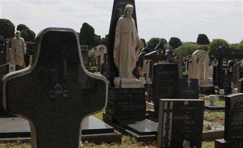 South Africa cemeteries to microchip tombstones
