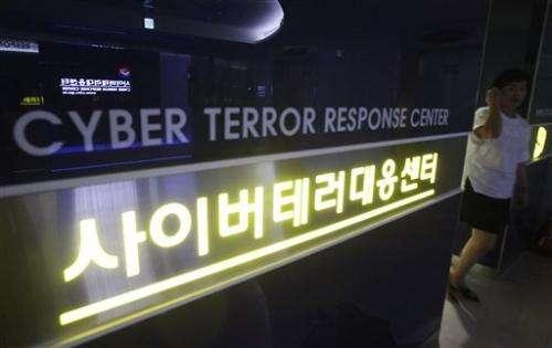 South Korea blames North Korea for cyberattack