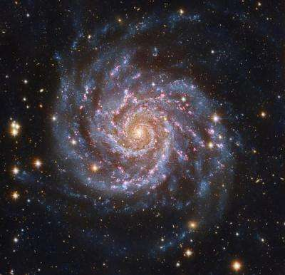 Spiral galaxies like Milky Way bigger than thought, says CU-Boulder study