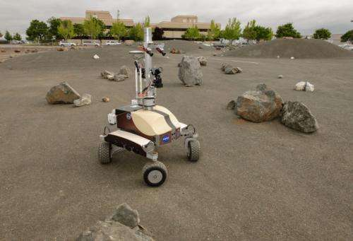 Station Astronauts Remotely Control Planetary Rover From Space