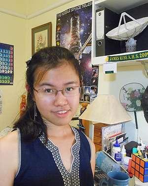 Student helps investigate a stellar 'crime scene'