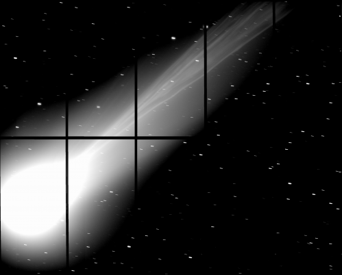 Subaru telescope captures comet Lovejoy's tail