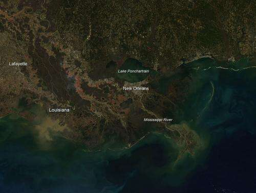Sugar cane fires in Louisiana