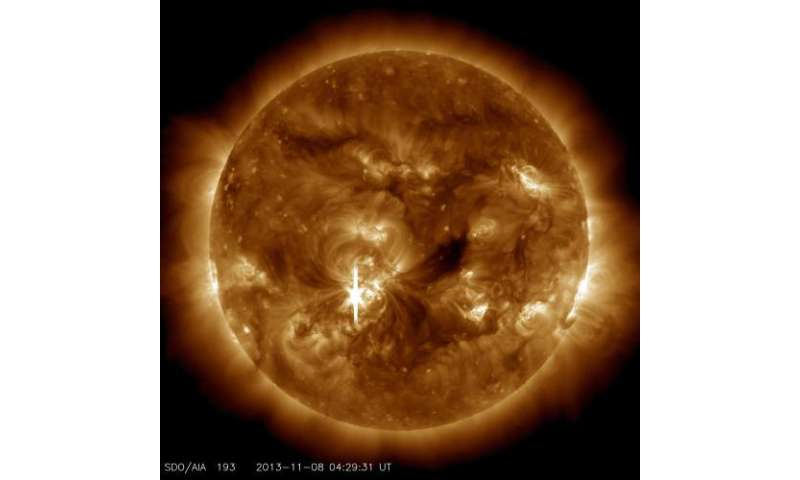 Sun unleashes another X-class flare