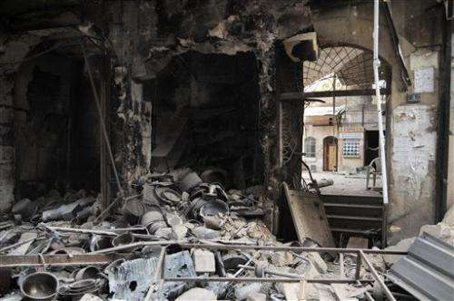 Syria official warns of trafficking in antiquities