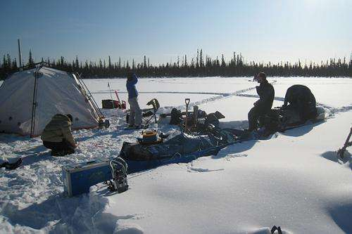 Team pioneers new way to survey thawing Arctic