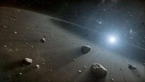 Telescopes find evidence for asteroid belt around Vega