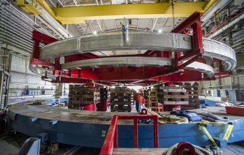 The big move: A last look at the Muon g-2 ring's departure from Brookhaven