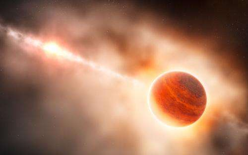 The birth of a giant planet? Candidate protoplanet spotted inside its stellar womb