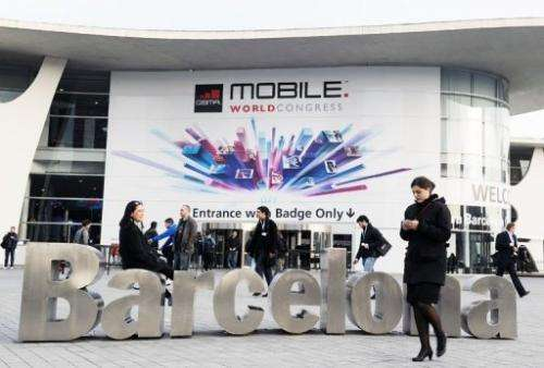 The Mobile World Congress in Barcelona on February 24, 2013