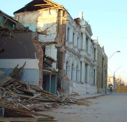 The resilience of the Chilean coast after the earthquake of 2010