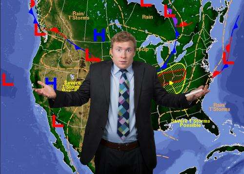The storm that never was: Why the weatherman is often wrong