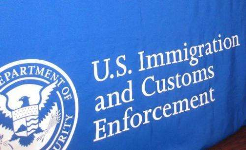 The US Immigration and Customs Enforcement said that it had broken up an operation run by Xiang Li, 36, of Chengdu