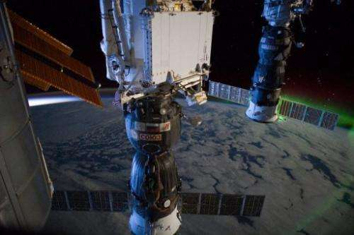 This handout image provide by NASA on March 6, 2012 shows a view from the International Space Station