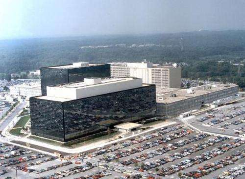 This undated image shows the National Security Agency(NSA) at Fort Meade, Maryland