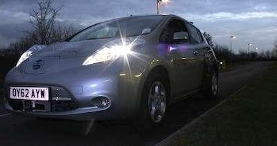 UK's RobotCar demonstrated