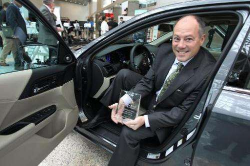 US-AUTOMAKERS-DEBUT-NEW-MODELS-AT-THE-LOS-ANGELES-AUTO-SHOW