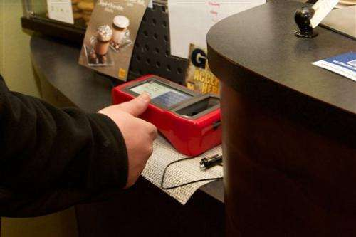 US college tests fingerprint purchasing technology