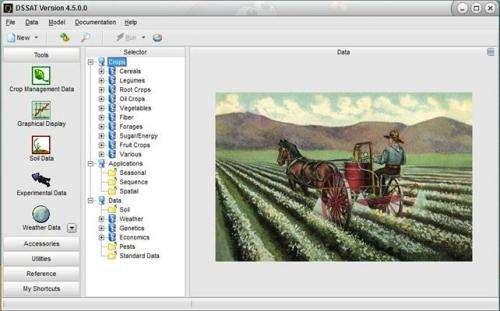 Virtual farming to explore alternatives
