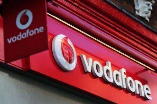 Vodafone is one of five companies to have won 4G mobile licences in the auction