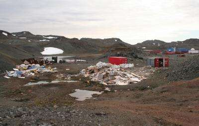 Waste dump at the end of the world