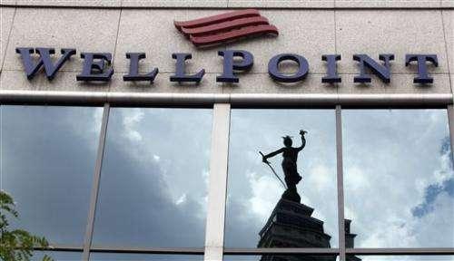 WellPoint's 3Q profit falls 5 pct, forecast climbs