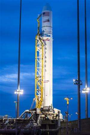Winds force cancellation of unmanned rocket launch