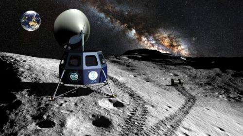 World's first mission to the Moon's south pole announced