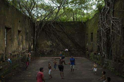 Amazon ruins await adventurous World Cup visitors