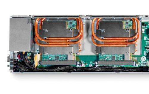 Data center reset: HP Apollo 8000 features water-cooled system