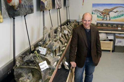Drexel team unveils Dreadnoughtus: A gigantic, exceptionally complete sauropod dinosaur