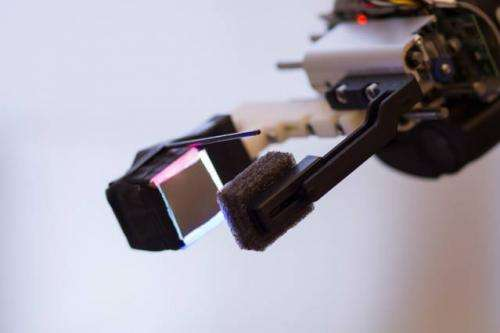Fingertip sensor gives robot unprecedented dexterity