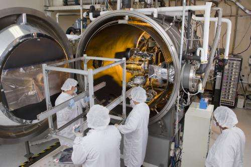First JPSS-1 satellite instrument is ready for installation