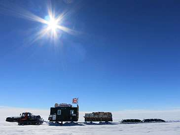 First leg of Antarctic iSTAR mission accomplished
