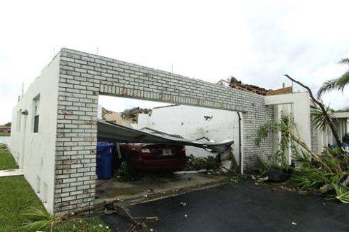 Florida more vulnerable to twisters than Midwest