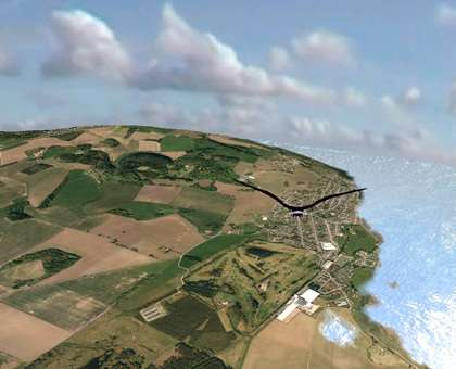 Four-dimensional simulation of Fife coastline developed by Abertay scientists