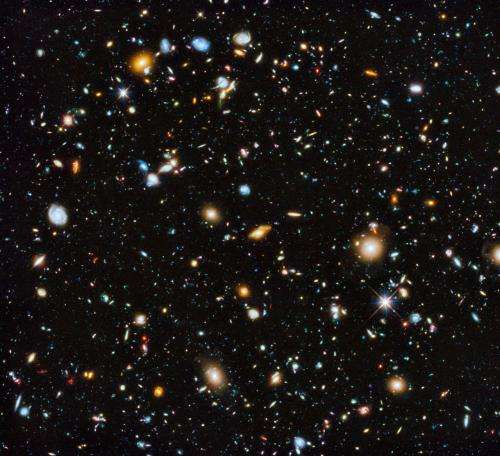 Hubble unveils a colorful view of the universe
