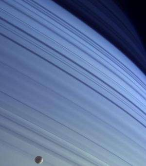 Image: Saturn's shadows