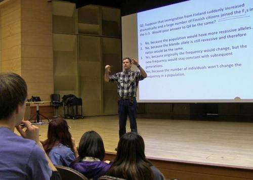 Improve grades, reduce failure -- undergrads should tell profs 'Don't lecture me'