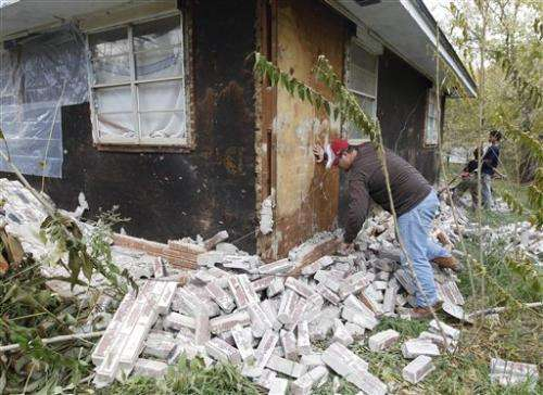 Less shake from artificial quakes, US study says
