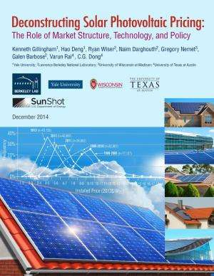 Local market conditions and policies strongly influence solar PV pricing