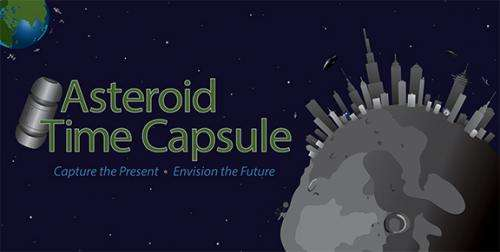 NASA invites public to submit messages for asteroid mission time capsule