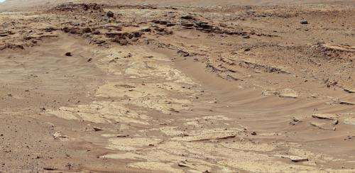 NASA Mars rover finds sandstone variations
