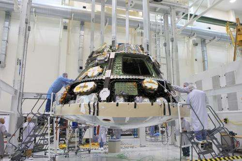 NASA's Orion spacecraft is ready to feel the heat