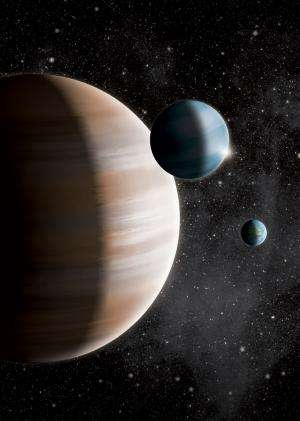 'Neapolitan' exoplanets come in three flavors