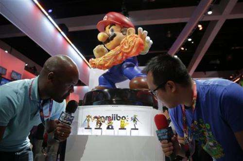 Nintendo launching 'amiibo' with 12 characters
