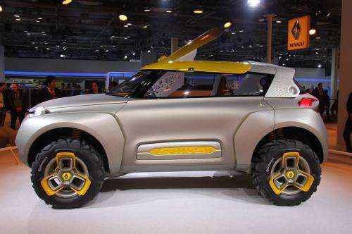 Renault unveils Kwid concept car that comes with its own drone (w/ video)
