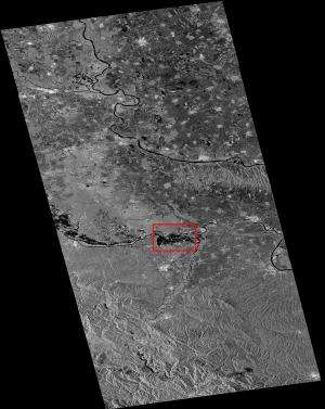 Sentinel-1 aids Balkan flood relief